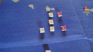 British Naval Units With Combat Air Patrol In Position.....But The Germans Will Elude Them Due To Night/Initiative DR