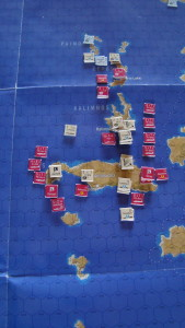 After Landings, The Germans Are Attacked By British Naval And Air Units