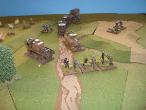Partisans Engage Convoy Escort