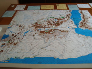 Map Looking North.  Where Are The Ants?