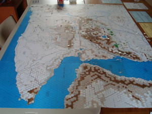Map Looking West