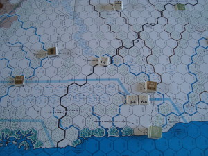 Early Game: British Advance Towards Camissi
