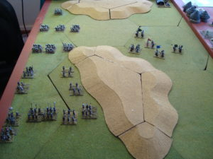 Portuguese Begin Hasty Attack. Tribesmen Begin Move To Support Civic Guard